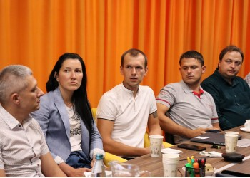 Meeting of the Production Committee of the Western Ukrainian office of the Association